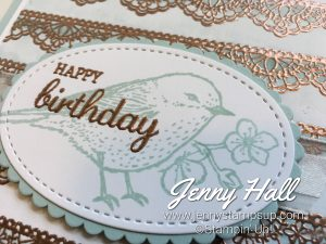 Emboss Resist technique using Delicate Details and Best Birds by Jenny Hall www.jennyhalldesign.com
