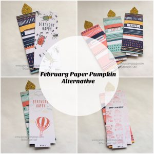 February 2017 Paper Pumpkin alternative by Jenny Hall www.jennyhalldesign.com