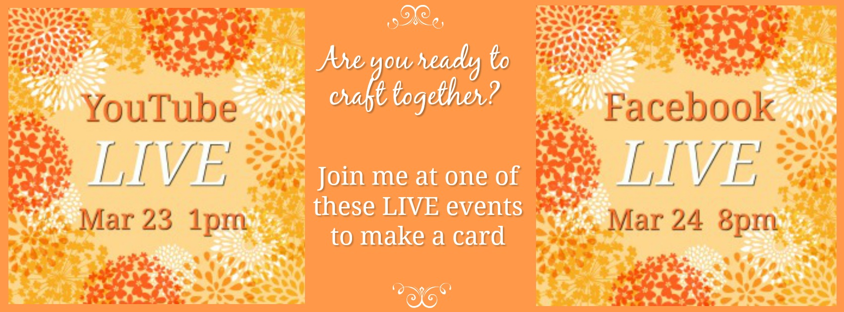 check out a LIVE event with Jenny Hall www.jennyhalldesign.com