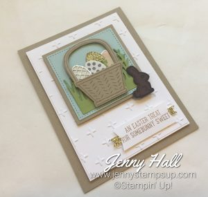 Easter card made with Basket Bunch Bundle by Jenny Hall at www.jennyhalldesign.com