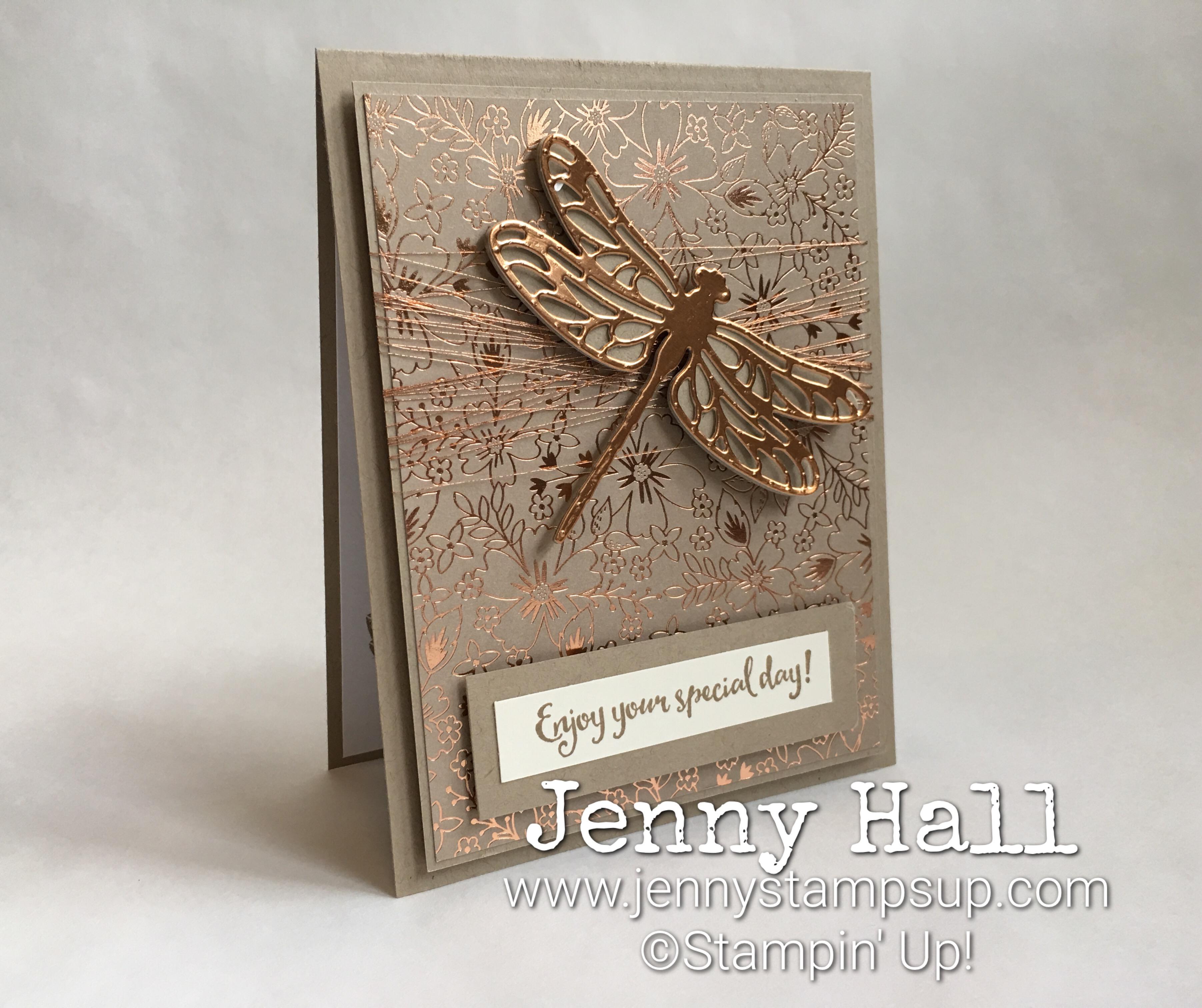 Dragonfly Dreams by Jenny Hall at www.jennyhalldesign.com
