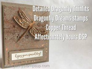 Dragonfly Dreams by Jenny Hall at www.jennyhalldesign.com
