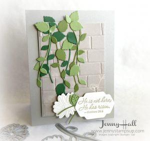 Easter Greenery card by Jenny Hall www.jennyhalldesign.com