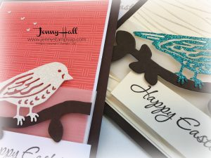 One card design in four colorways by Jenny Hall www.jennyhalldesign.com