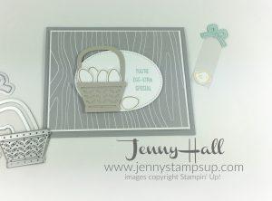 Basket Bunch Easter card by Jenny Hall www.jennyhalldesign.com