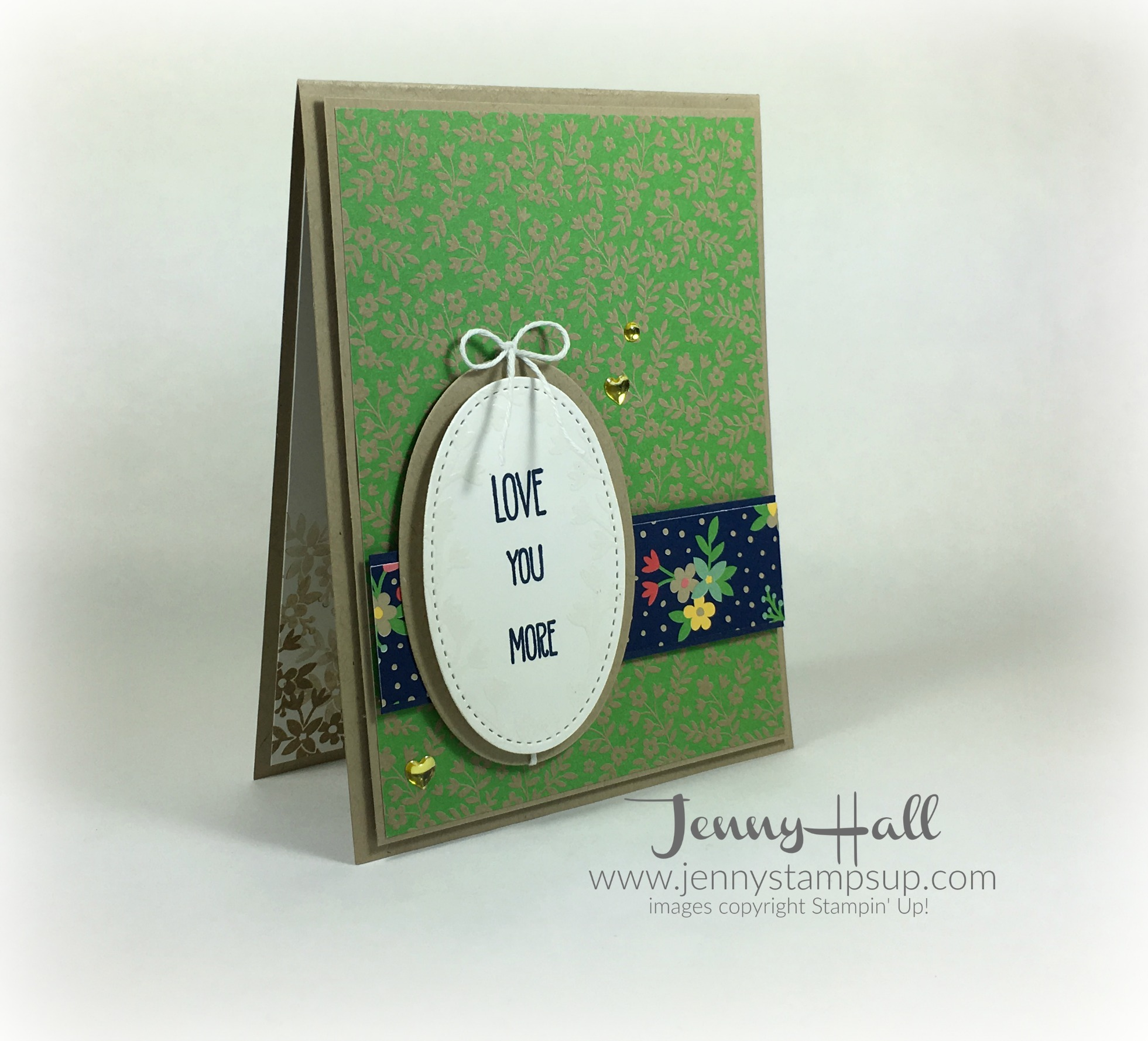 Cameo style card by Jenny Hall www.jennyhalldesign.com