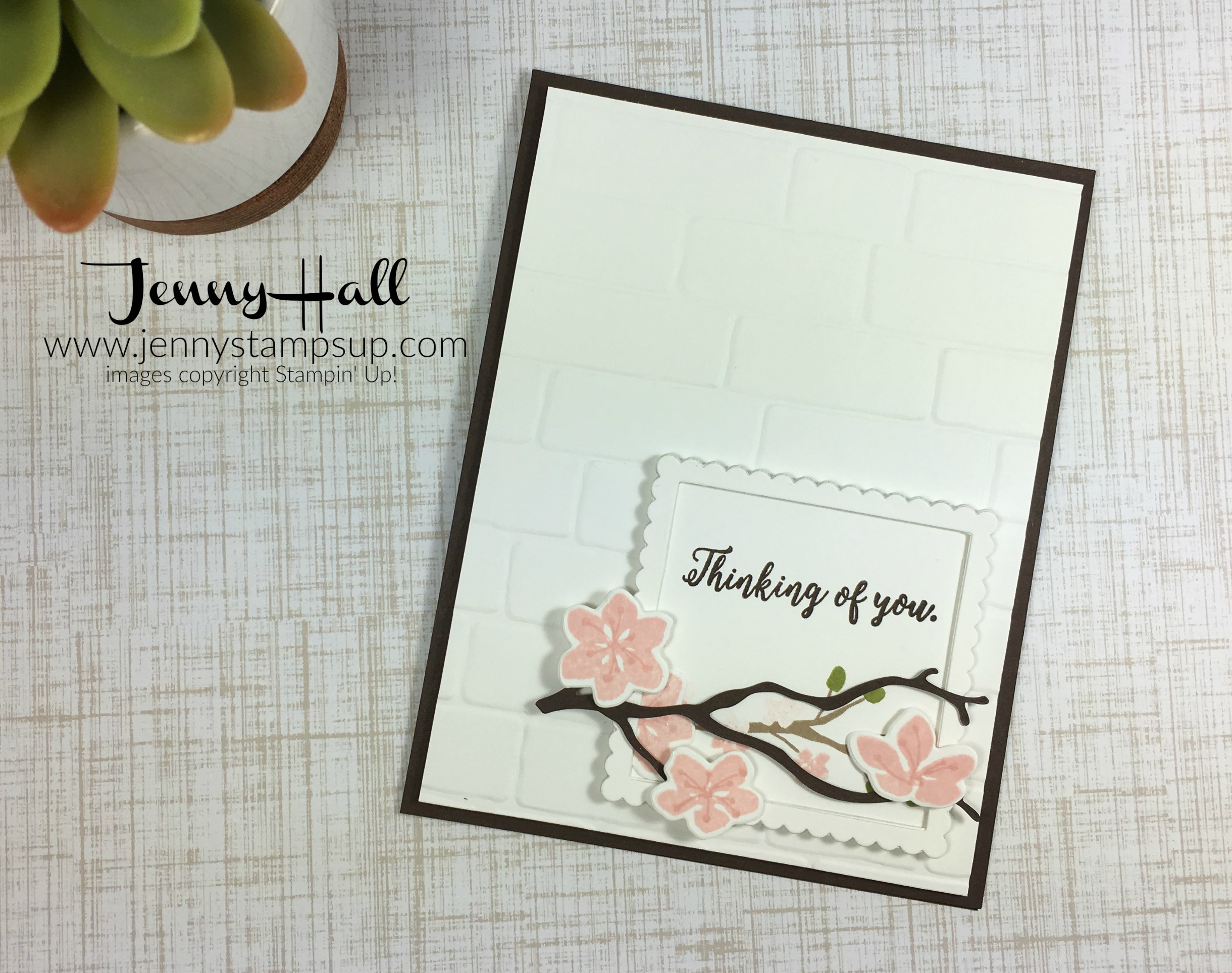 framed sentiment with colorful seasons by Jenny Hall www.jennyhalldesign.com