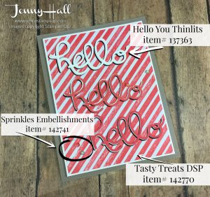Hello You word dies by Jenny Hall at www.jennyhalldesign.com