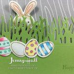 Basket Bunch Easter slider card by Jenny Hall www.jennyhalldesign.com