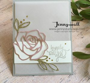 Patterned paper die cut card by Jenny Hall at www.jennyhalldesign.com