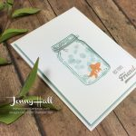 Creating a recessed die cut by Jenny Hall www.jennyhalldesign.com