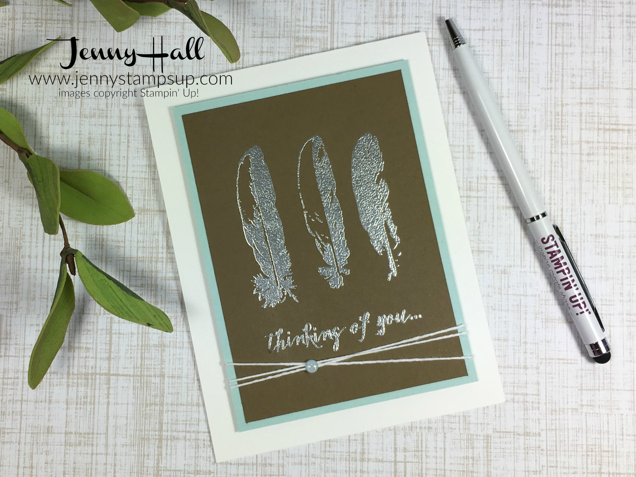 Feather Together by Jenny Hall www.jennyhalldesign.com