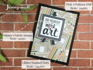 Painter's Palette and Pick A Pattern DSP by Jenny Hall at www.jennyhalldesign.com