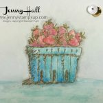 Basket of Wishes watercolor pencils by Jenny Hall at www.jennyhalldesign.com