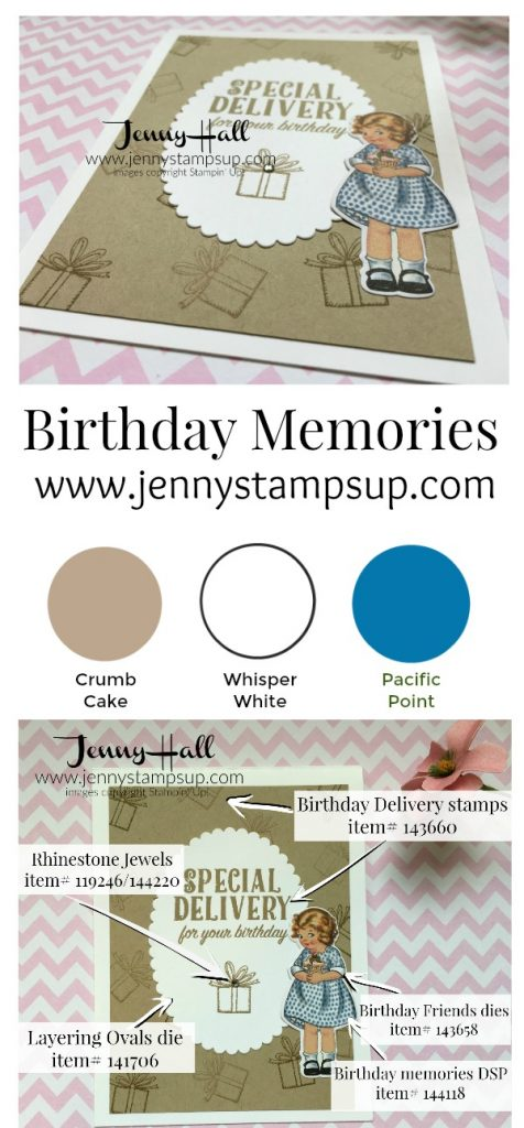 Birthday Delivery by Jenny Hall www.jennyhalldesign.com