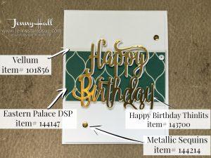 Happy Birthday Thinlits