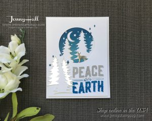 creating simple moonlight in a card by Jenny Hall at www.jennyhalldesign.com for cardmaking, scrapbooking, video tutorials and more, please visit me today