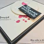Half Full stamp set by Stampin Up with Jenny Hall from www.jennyhalldesign.com for cardmaking, stamping, handmade cards, free video tutorials, scrapbooking and more!