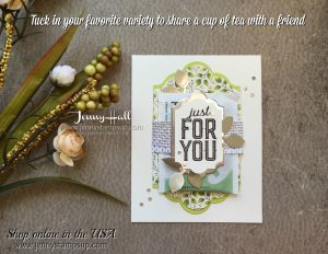 Merry Little Labels card by Jenny Hall at www.jennyhalldesign.com for scrapbooking, cardmaking, papercraft gift giving, video tutorials and more