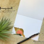 beach theme card by Jenny Hall at www.jennyhalldesign.com