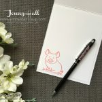This Little Piggy by Jenny Hall for www.jennyhalldesign.com