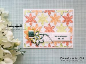 Christmas Quilt Bundle card by Jenny Hall at www.jennyhalldesign.com for cardmaking, video tutorials, papercraft gift giving, scrabooking and more!