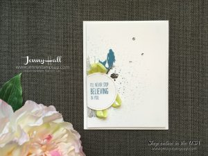 Magical Mermaid card by Jenny Hall of www.jennyhalldesign.com for cardmaking, papercraft gift giving, scrapbooking, process video tutorials, craft supplies and more