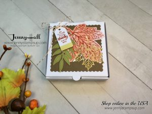 September Paper Pumpkin alternative project by Jenny Hall of www.jennyhalldesign.com for cardmaking, papercraft gift giving, tutorial videos and more!