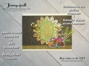 Stampin' Blends Markers FREE online course with the purchase of a full set of markers from Jenny Hall at www.jennyhalldesign.com for video tutorials, cardmaking projects, scrapbooking and more!