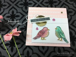Stampin Blends by Jenny Hall at www.jennyhalldesign.com
