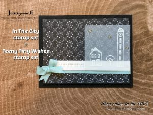 OSAT November Blog Hop card by Jenny Hall at www.jennyhalldesign.com for Stampin' Up! products, cardmaking, papercraft gifting, free video tutorials, scrapbooking and more!
