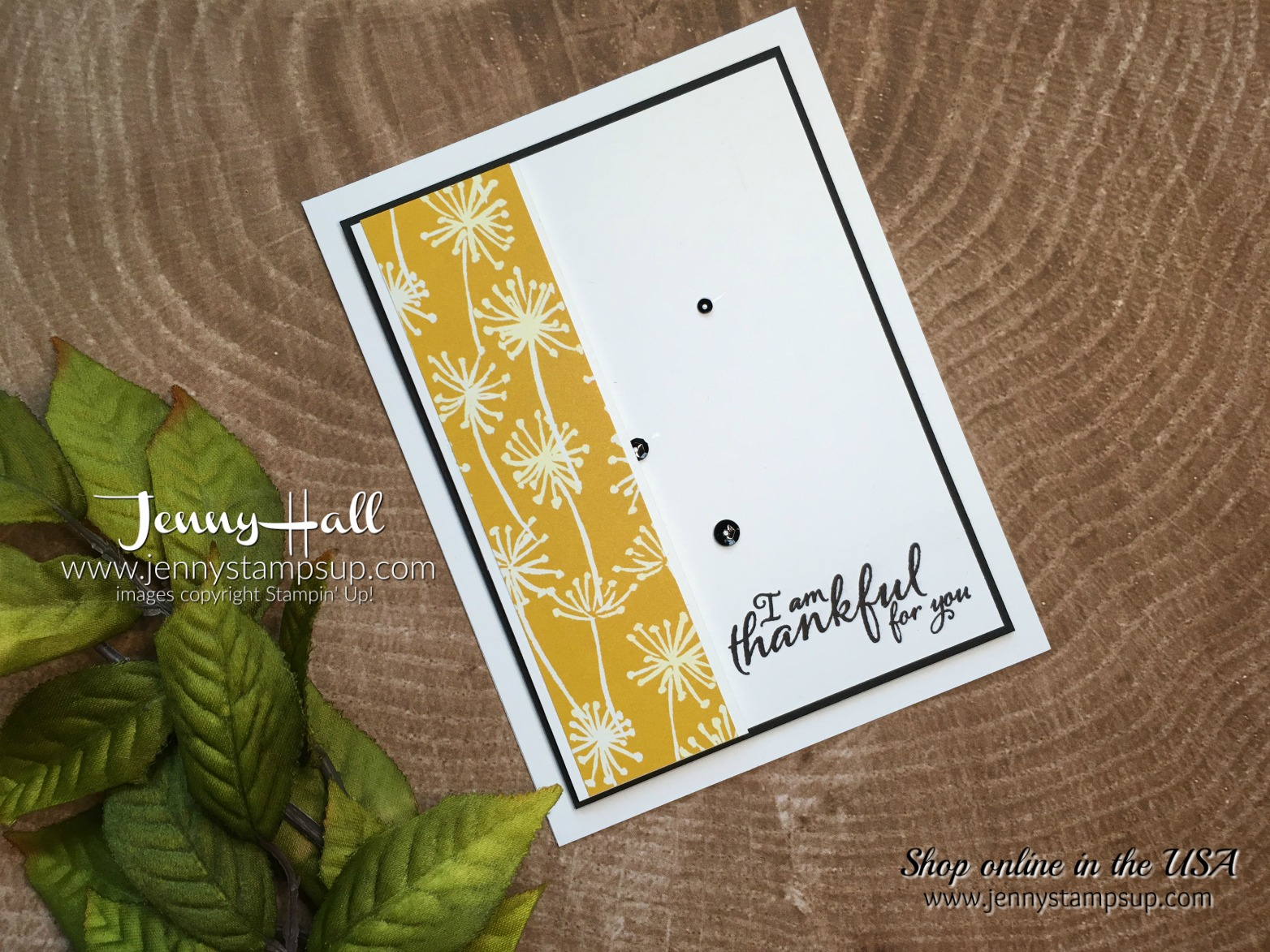 october stampin dreams blog hop card by Jenny Hall at www.jennyhalldesign.com for cardmaking, video tutorials, scrapbooking, arts and craft supplies and more!