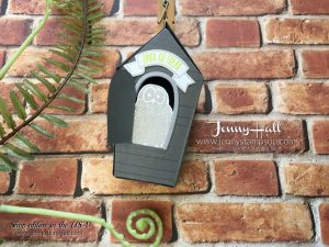 Halloween woodlands card by Jenny Hall at www.jennyhalldesign.com for cardmaking, video tutorials, scrapbooking, papercrafts by Stampin' Up! and more