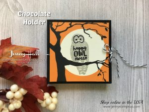 Halloween Peanut Butter Cup Holder by Jenny Hall