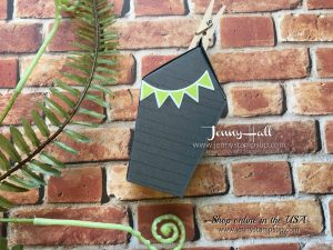 Sweet Home chocolate holder by Jenny Hall at www.jennyhalldesign.com