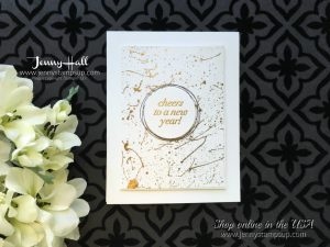 Cheers to the Year card by Jenny Hall at www.jennyhalldesign.com for cardmaking, scrapbooking, video tutorials and more!