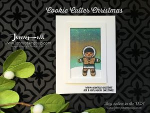 Cookie Cutter Christmas Kid card by Jenny Hall at www.jennyhalldesign.com for cardmaking, stamping, scrapbooking, papercraft gift giving and more!