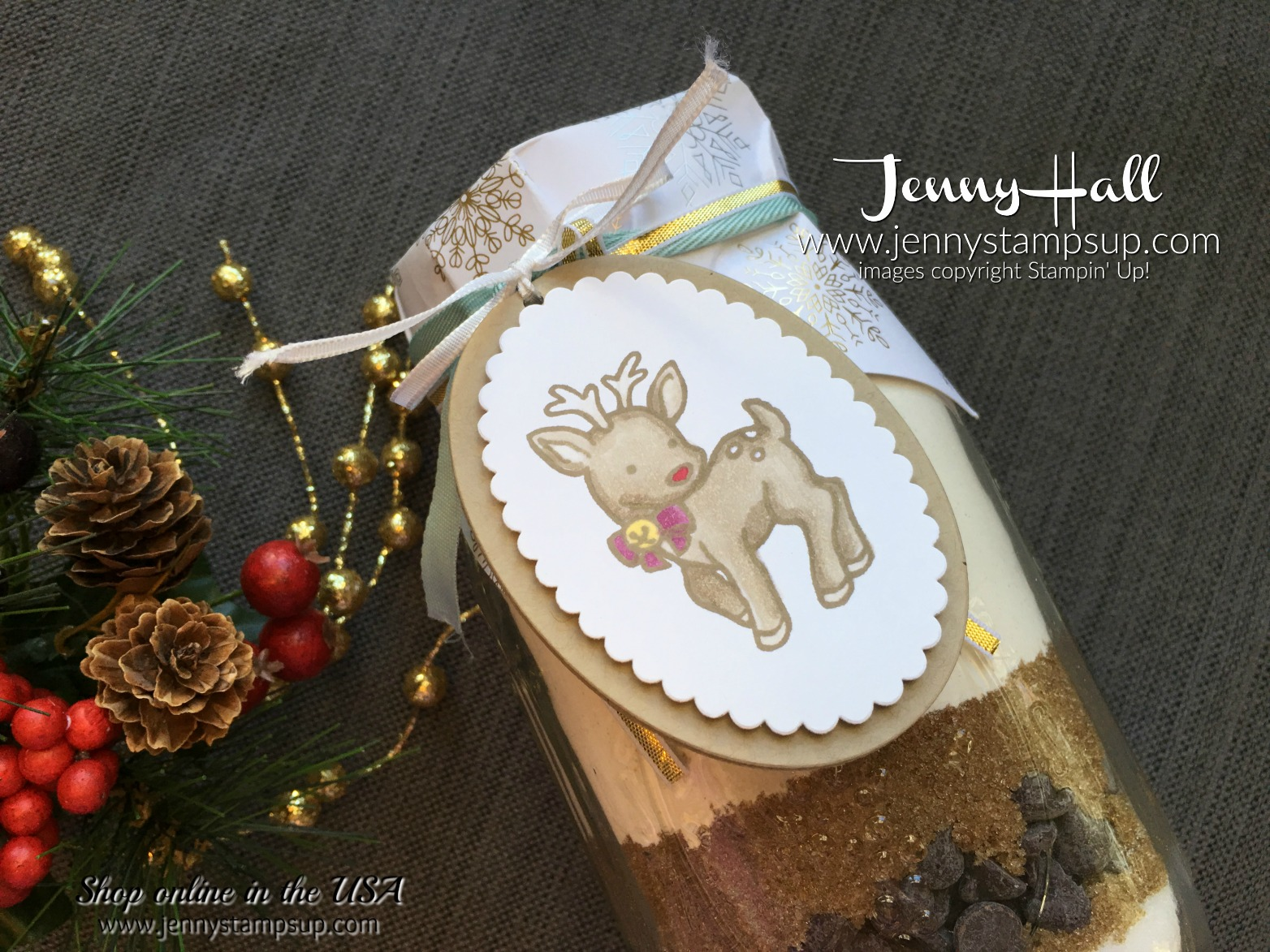 Teacher Christmas Gifts by Jenny Hall at www.jennyhalldesign.com for cardmaking, scrapbooking, papercraft gift giving, video tutorials and more!
