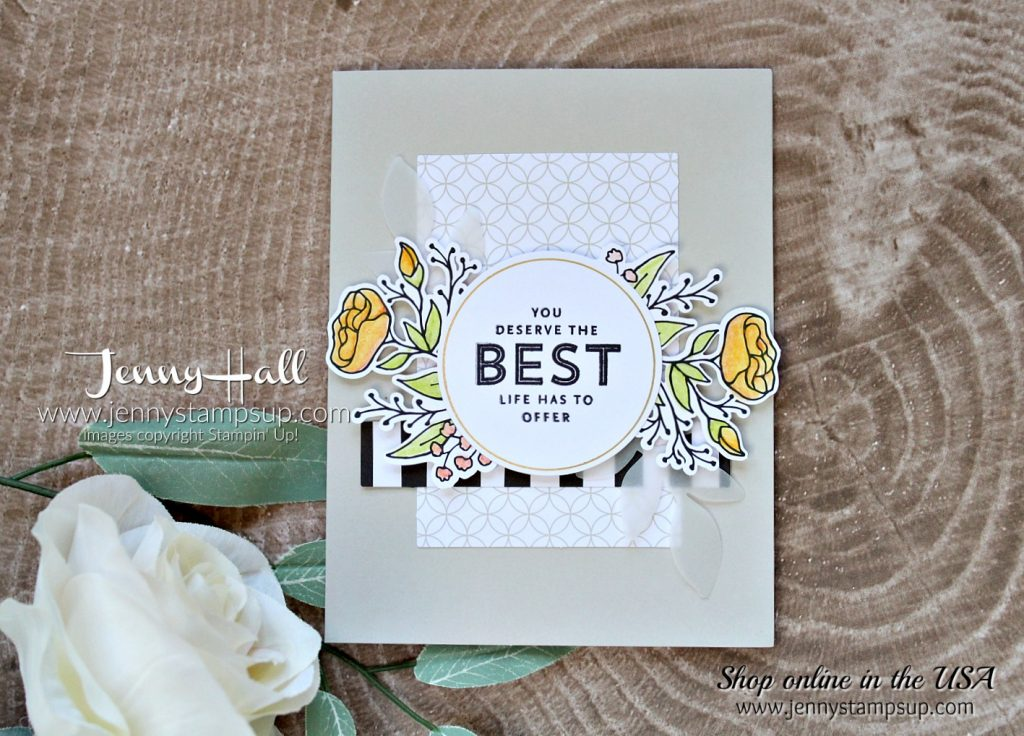 Lots of Happy card kit by Jenny Hall at www.jennyhalldesign.com for #cardmaking #stampinup #scrapbooking #jennystampsup #jennyhallstampinup #jennystampsup #artsandcrafts #lotsofhappycardkit #watercolorpencils #cardmakingtechniques and more!