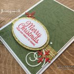 Nostalgic Christmas Card by Jenny Hall at www.jennyhalldesign.com for cardmaking, scrapbooking, video tutorials and more!
