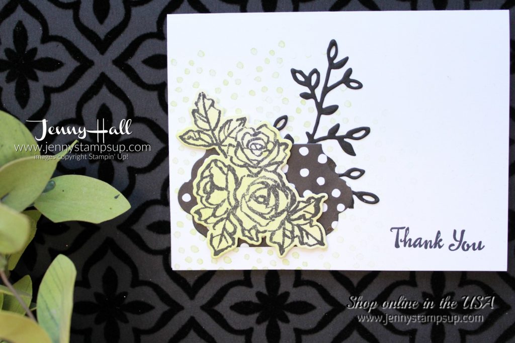 How I use paper scraps Petal Palette card by Jenny Hall using Stampin Up products visit me at www.jennyhalldesign.com for #cardmaking #scrapbooking #cardmakingvideos #videotutorials #jennystampsup #jennyhallstampinup #jennyhalldesign #petalpalette #lemonlimetwist #easythankyoucard #stampinup #2018occasionscatalog #2018saleabration