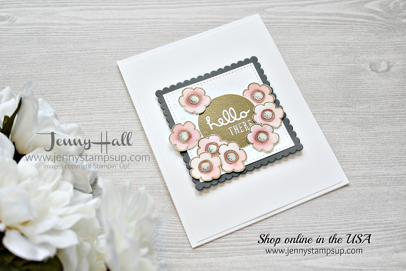 The Beauty and the Beast of Pieces & Patterns stamp set by Jenny Hall using #stampinup products at www.jennyhalldesign.com for #cardmaking #videotutorials #scrapbooking #piecesandpatterns #jennystampsup #jennyhalldesign #jennyhallstampinup and more!