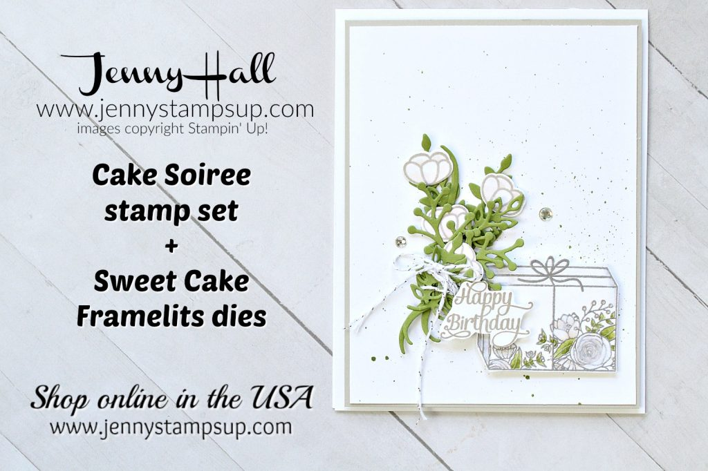 Guest Designer for Tic Tac Toe Challenge Cake Soiree card by Jenny Hall at www.jennyhalldesign.com for #cardmaking #stampinup #guestdesigner #cakesoiree #tictactoechallenge #tttchallenge #stampinup #jennystampsup #jennyhalldesign #jennyhallstampinup #cascards #cleanandsimplecards #lifestyle #stampinblends #crafts #paperembossing