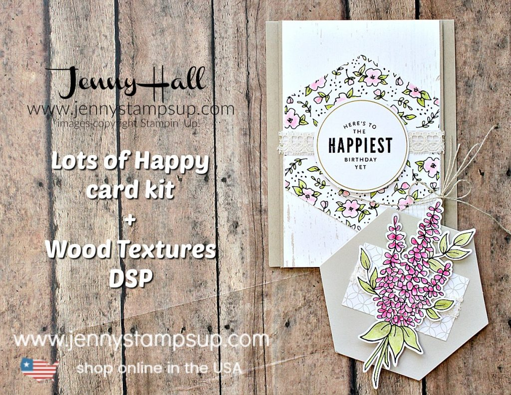 Lots and lots of Happy card and tag project created by Jenny Hall at www.jennyhalldesign.com for #cardmaking #papercraft #crafts #lifestyleblog #craftkit #stampinup #stamping #jennyhalldesign #jennystampsup #jennystampsup #gifttag #diygift #lotsofhappykit #cascards #cleanandsimplecards #handmade #shabbychic