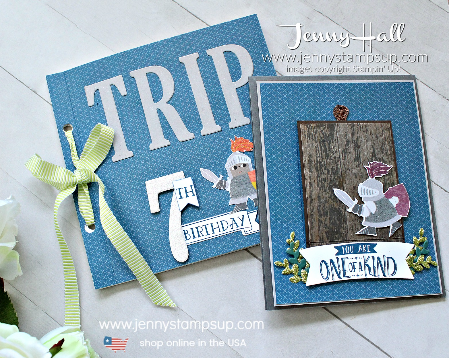 February Stampin Friends Blog Hop project with Magical Day interractive card and mini album created by Jenny Hall #minialbum #stampinup #interractivecard #magicalday #youngboybirthday #seventhbirthday #miniscrapbook #scrapbooking #mythandmagic #stamping #papercraft #lifestyle #lifestyleblog #youtuber #crafts #dragonthemeparty #birthdaykeepsake