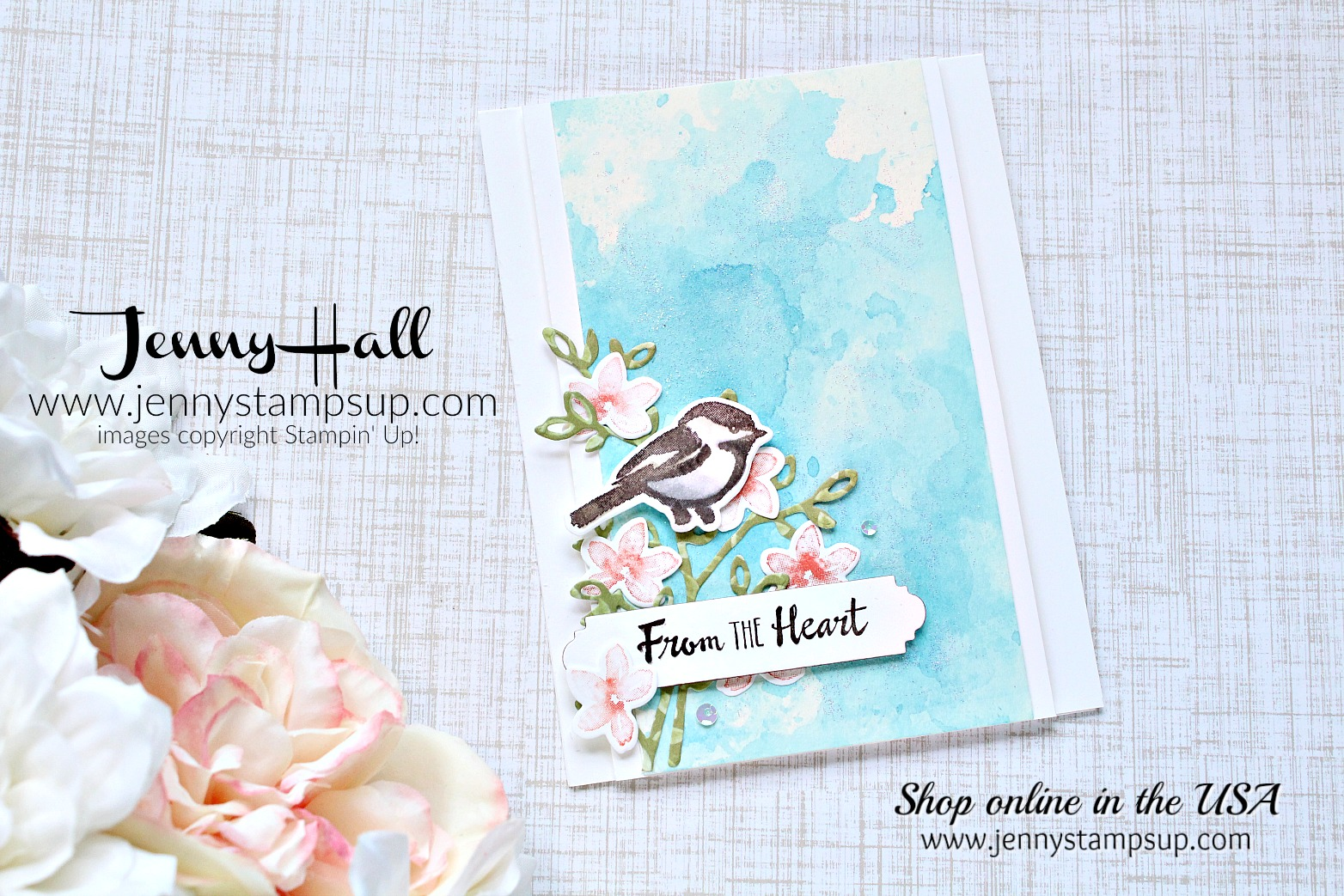 Warm thoughts card by Jenny Hall at www.jennyhalldesign.com for #cardmaking #cardmakingvideos #stampinup #jennyhalldesign #jennyhall #jennystampsup #jennyhallstampinup #halljenny #cardmaking#stampinup #stamping #papercraft #rubberstamp #petalpalette #cardmakingdesign #cardmakingtechnique #watercolor #inksmooshing