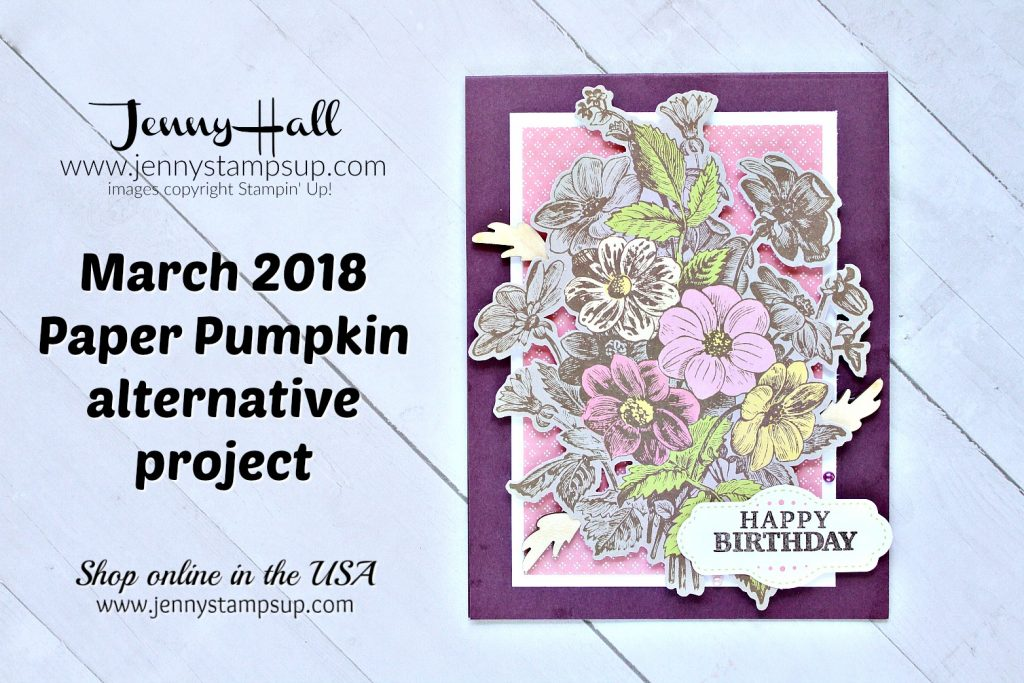 A Paper Pumpkin Thing Blog Hop card made with May Good Things Grow kit created by Jenny Hall at www.jennyhalldesign.com for #cardmaking #paperpumpkin #paperpumpkinalternative #minialbum #bloghop #stamping #stampinup #videotutorial #onlineclass #jennyhall #jennyhalldesign #jennystampsup #craftyyoutuber #crafts #papercrafts