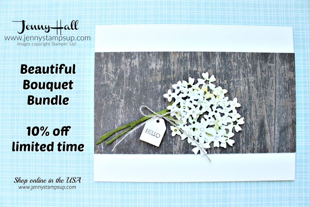 Simple Rustic Bouquet created by Jenny Hall at www.jennyhalldesign.com for #cardmaking #handmadecard #stamping #papercrafts #lifestyle #diy #beautifulbouquet #woodtexturesdsp #cascards #stampinblends #stampinup #jennyhall #jennyhalldesign #jennystampsup #videotutorial #youtuber