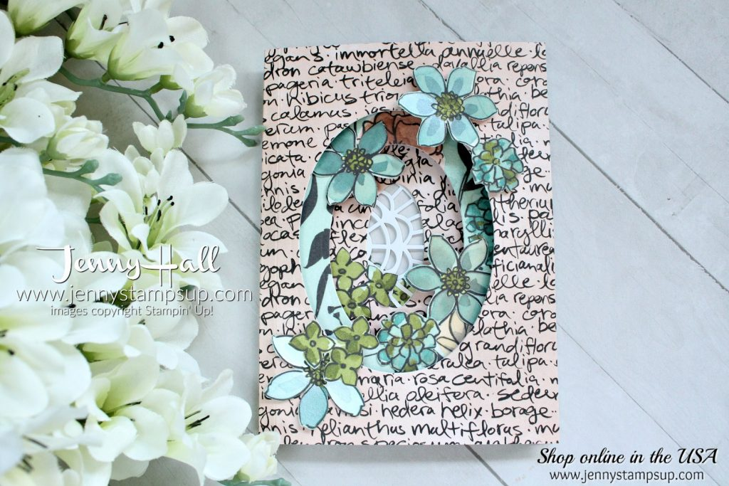share what you love tri fold window card jenny hall design