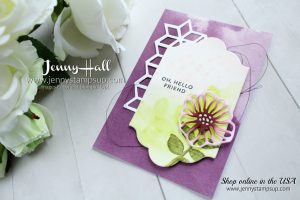 Enjoy the Little Things Blog Hop card created by Jenny Hall at www.jennyhalldesign.com for #cardmaking #bloghop #videohop #videobloghop #youtuber #videotutorial #lotsoflabelsdies #stamping #stampinup #watercolorpainting #jennyhalldesign #jennystampsup #jennyhallstampinup #ohsoeclectic #lifestyle #crafts #diy #craftsforkids #paperembossing #rubberstamp